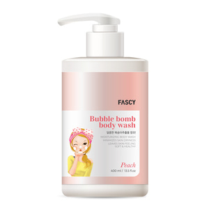 New Bubble Bomb Body wash(Peach)
